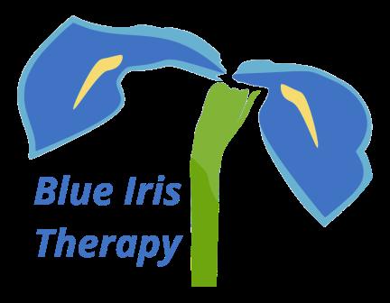 Blue Iris Therapy Logo 300 dpi