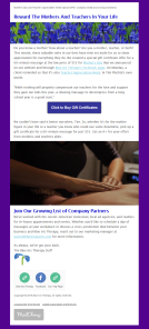 Blue Iris Therapy Email Campaigns